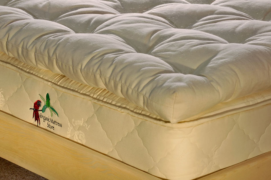 Natural Organic Wool Mattress Topper The Organic