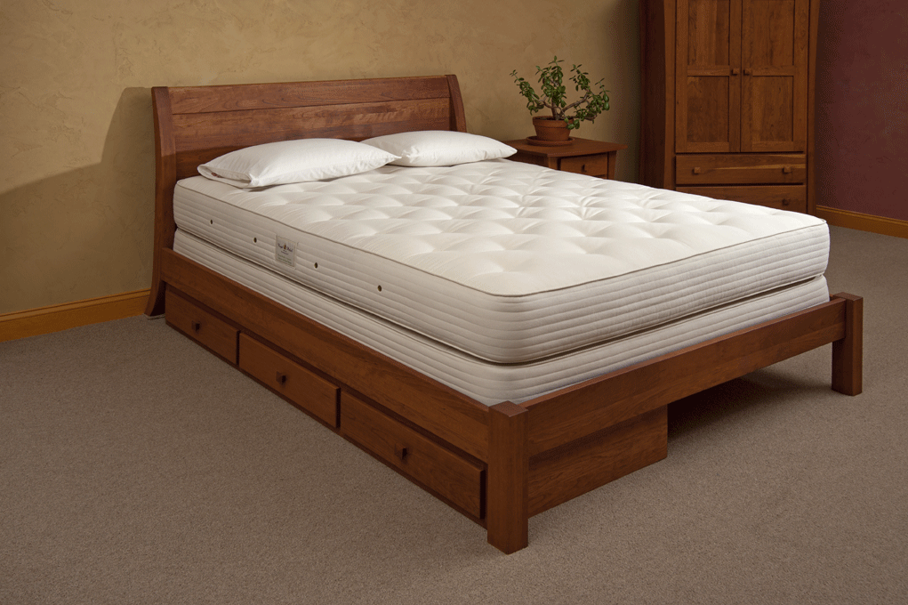 Organic King Size Royal Pedic Innerspring Mattress The