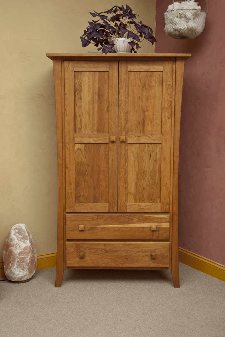 Manhattan Amish Built Armoire