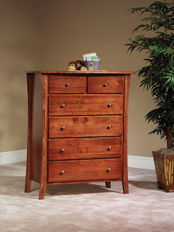 Manhattan Amish Built Chest of Drawers