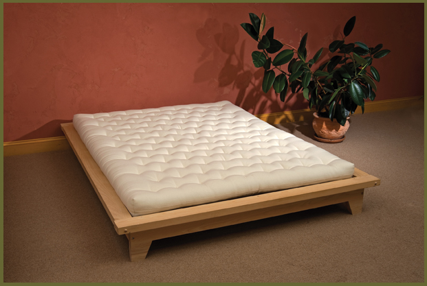 Organic wool mattress and natural wool carpet the for Futon and mattress shop