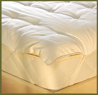 Organic Latex & Wool Mattress Toppers & Protectors