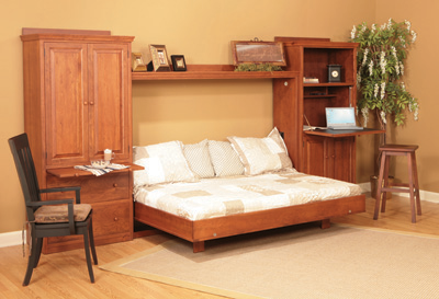 Comfort Wood Wall Bed