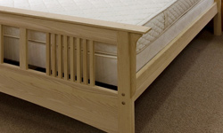 wood bed frame thumb